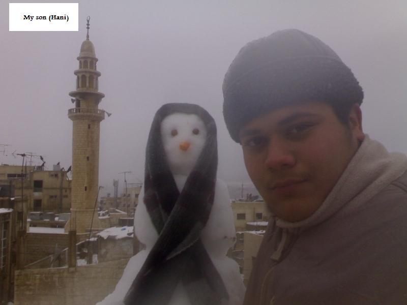 Hani Likes Snow Girls!!