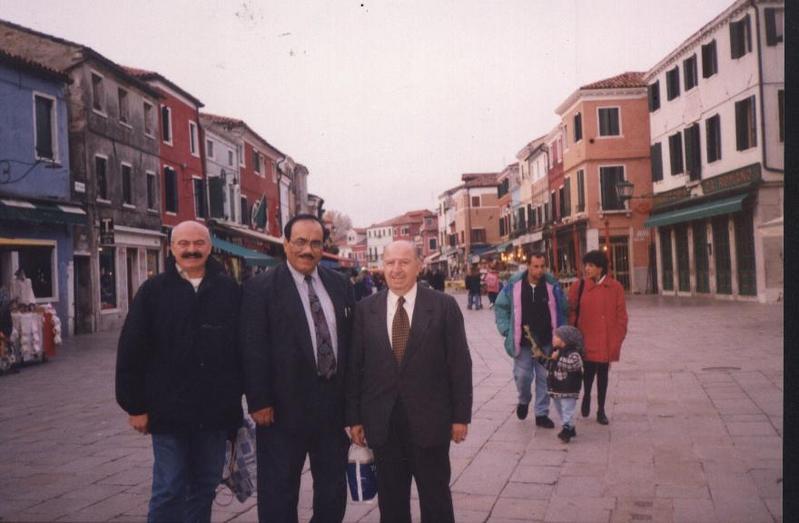 Jy5hx with Italian Colleagues in Venzia