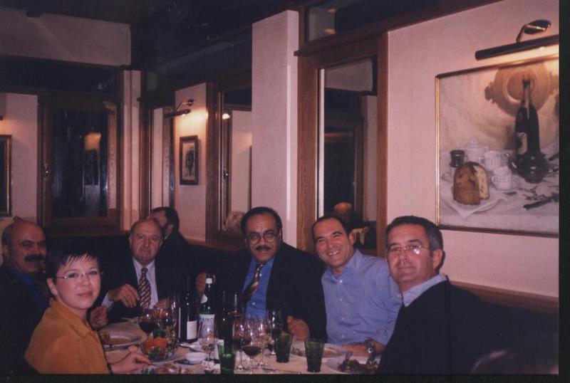 Jy5hx with Italian Colleagues (Doctors + Hams)