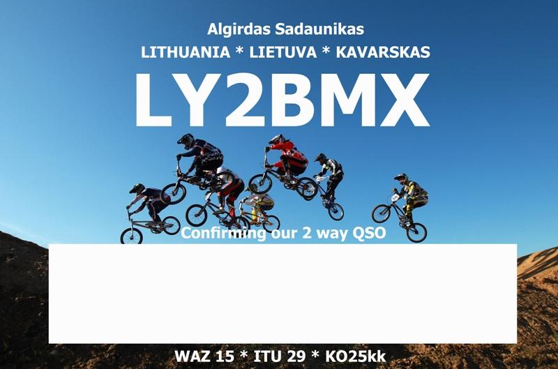LY2BMX QSL