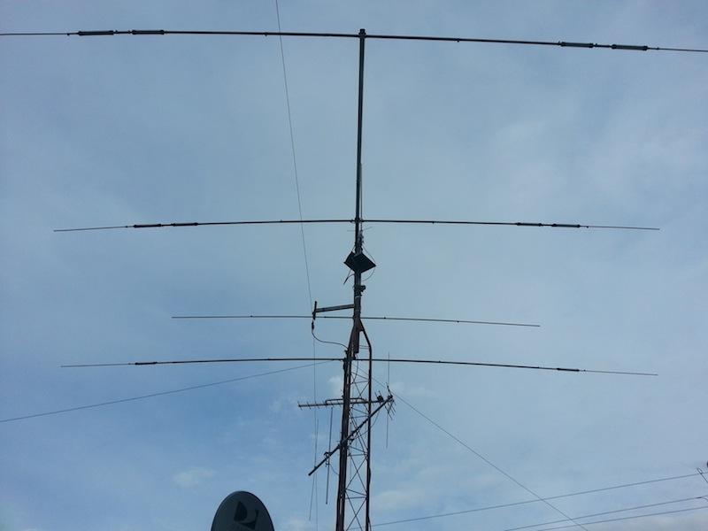 Tienda de radio amateur de la torre de Texas