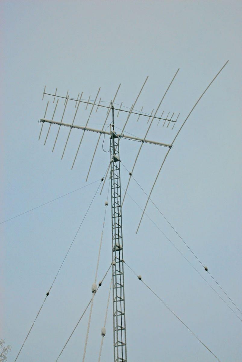 Close look of antennas