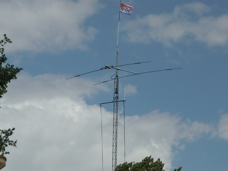 Old Antenna system PD8DX