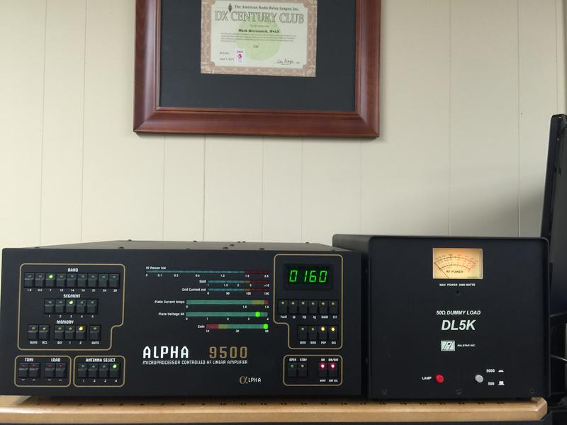 Alpha 9500 and Dummy Load