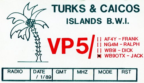 VP5 QSL