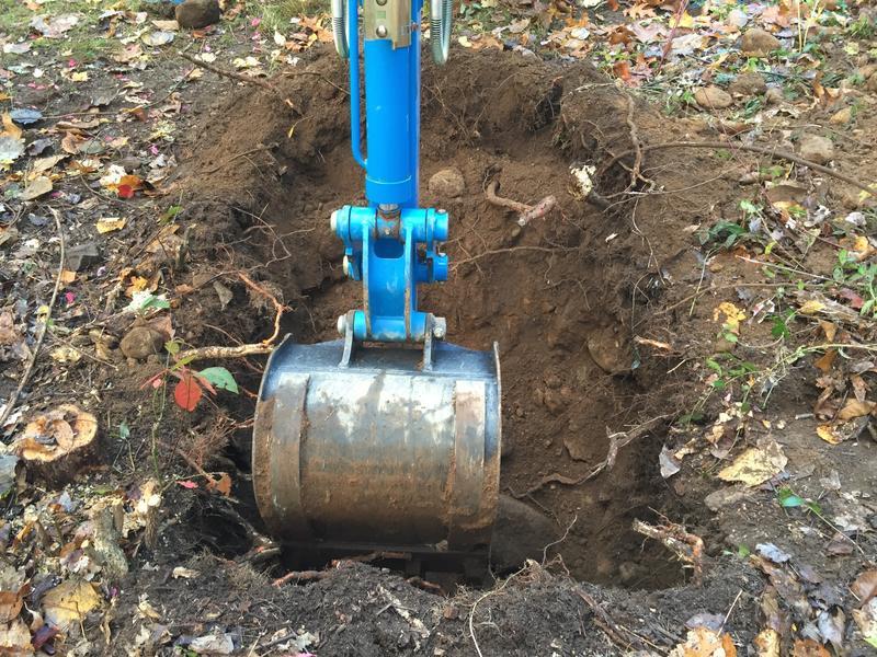 Let the digging begin!