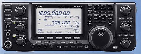 MY STATION TX ICOM 9100