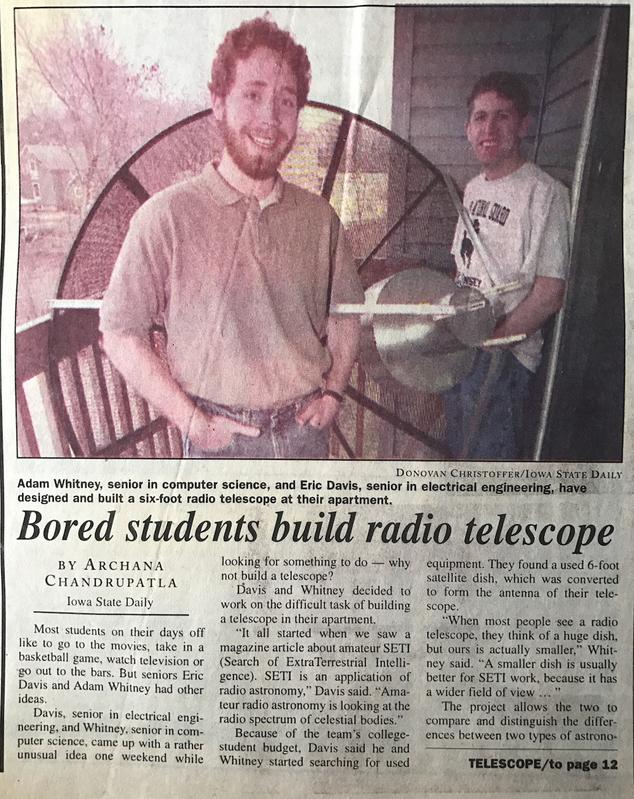College Homebrew Radio Telescope