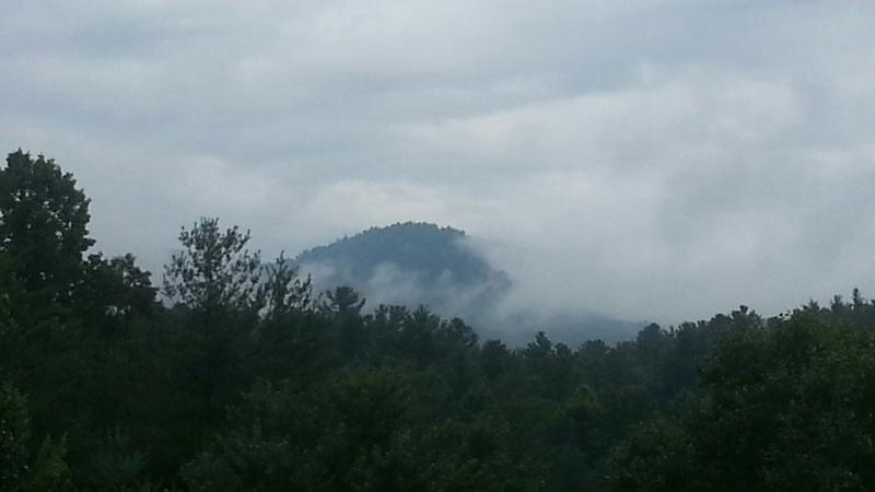 Bear Ridge Mountain from my new QTH in NC