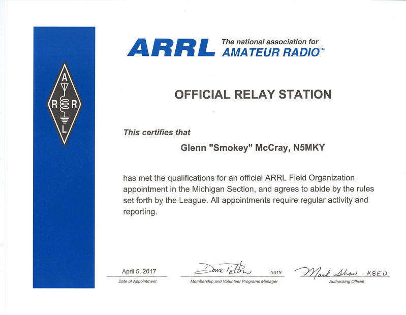 Official Relay Station