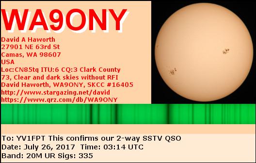 WA9ONY - Callsign Lookup by QRZ Ham Radio