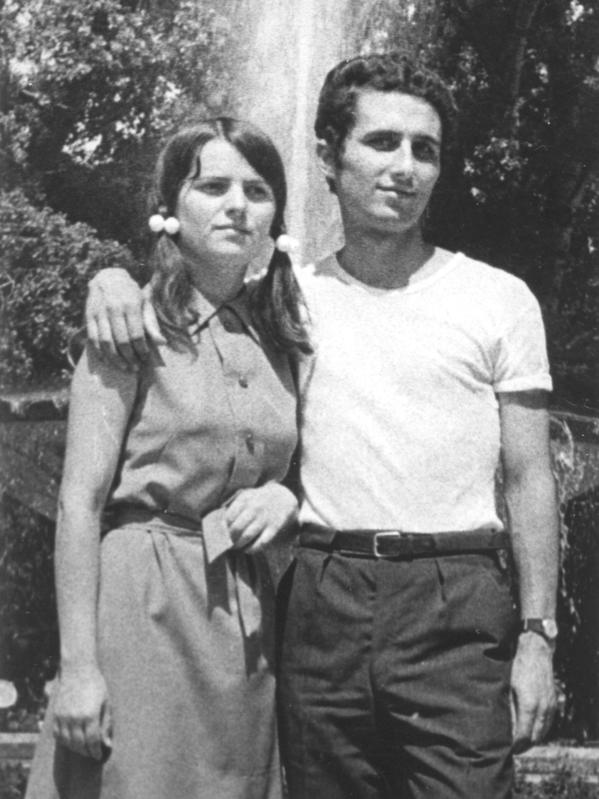 I and my wife Geta (Galati 1970)