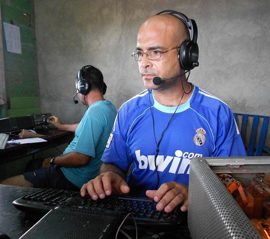 Operating T48K from Playa La Herradura