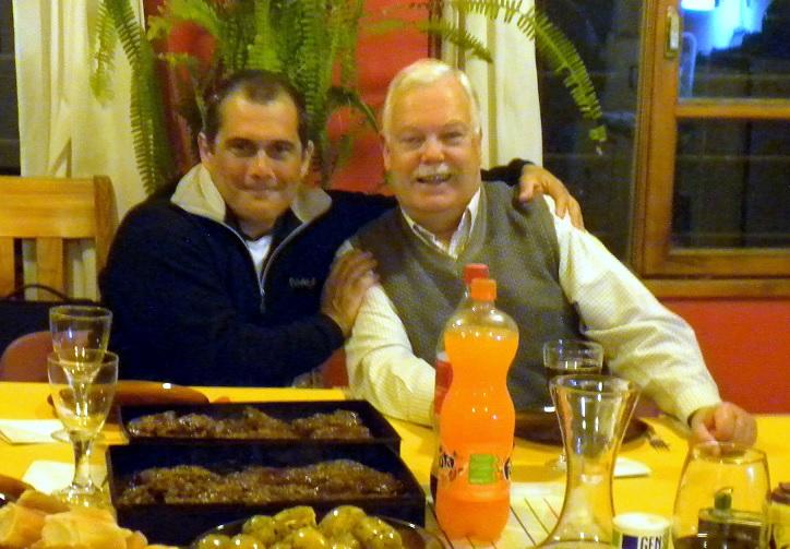 Gabriel y Alberto en San Martin de los Andes