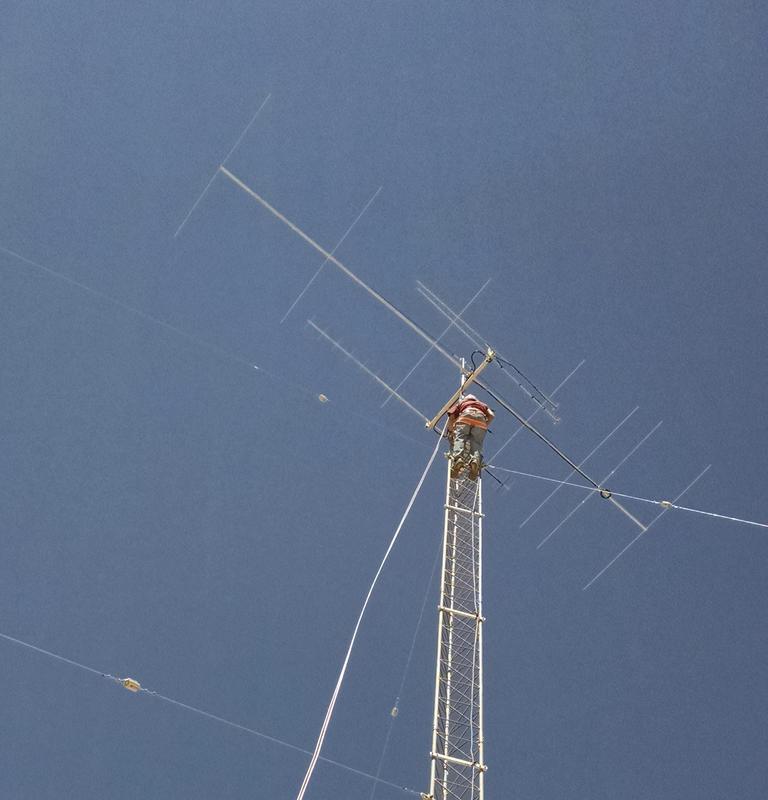 Tower Raising Day Detail