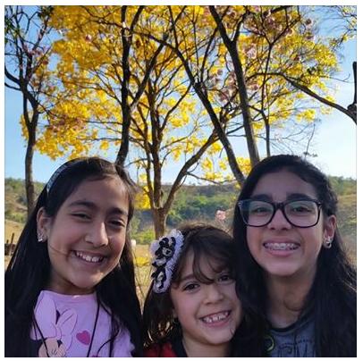 My girls: Paula - Bia - Rebecca