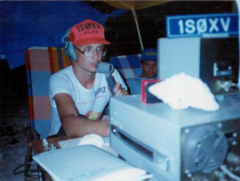 UN7PCZ operating as 1S0XV april-may 1990