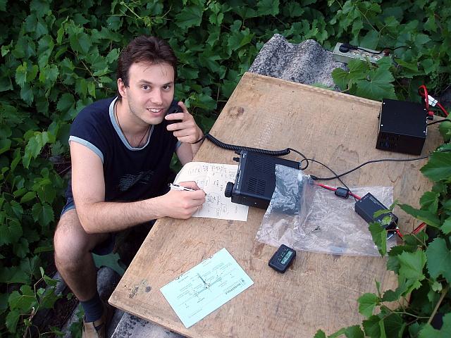 Portable with (C) Buddipole Dipole