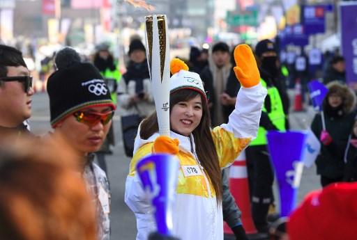 Porristas de Corte del Norte causan sensación en Pyeongchang 2018