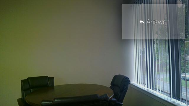 Google Glass Eye Exam Answer