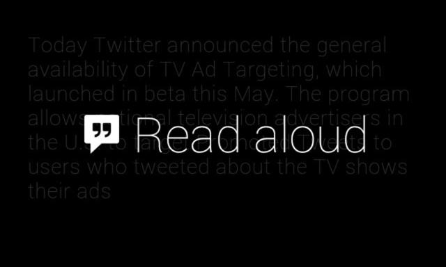 Glass  App Marketing Land - Read Aloud