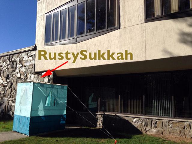 RustyBrick Sukkah