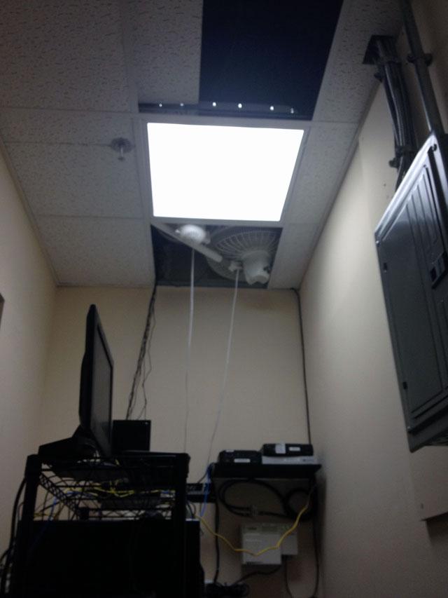 fans in ceiling