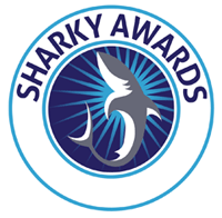 Sharky Awards logo