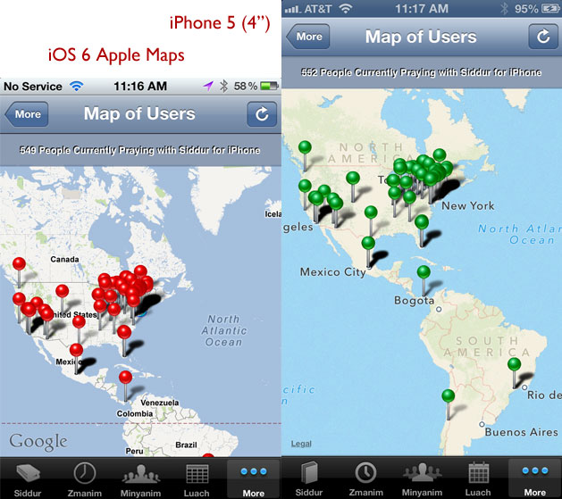 Now HERE Maps Ready for iOS