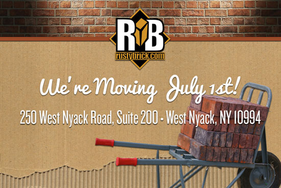 RustyBrick is Moving
