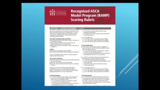 ASCA National Model Portal Overview