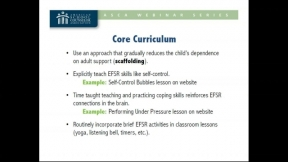 Executive Function and Self-Regulation