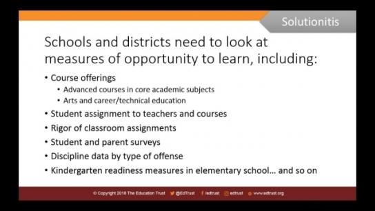 School Improvement Under ESSA