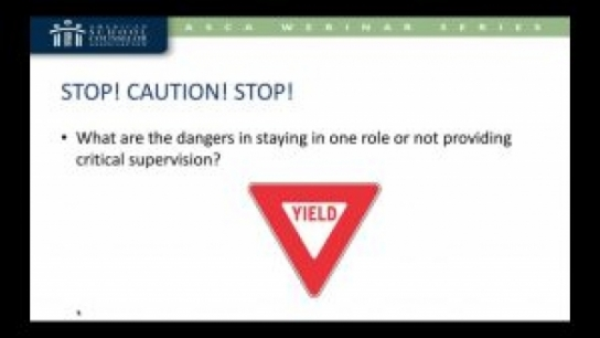 Supervision Toolbox: How to Effectively Supervise Interns