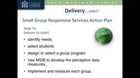 ASCA National Model: Delivery