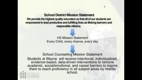 RAMP Scoring Rubric Webinar: Section 2 - Mission Statement