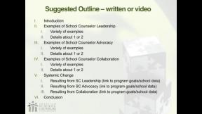 RAMP Scoring Rubric Webinar: Section 12 - Program Evaluation Reflection