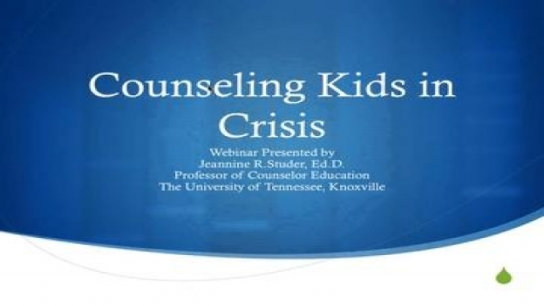 School Counseling in a Virtual Setting