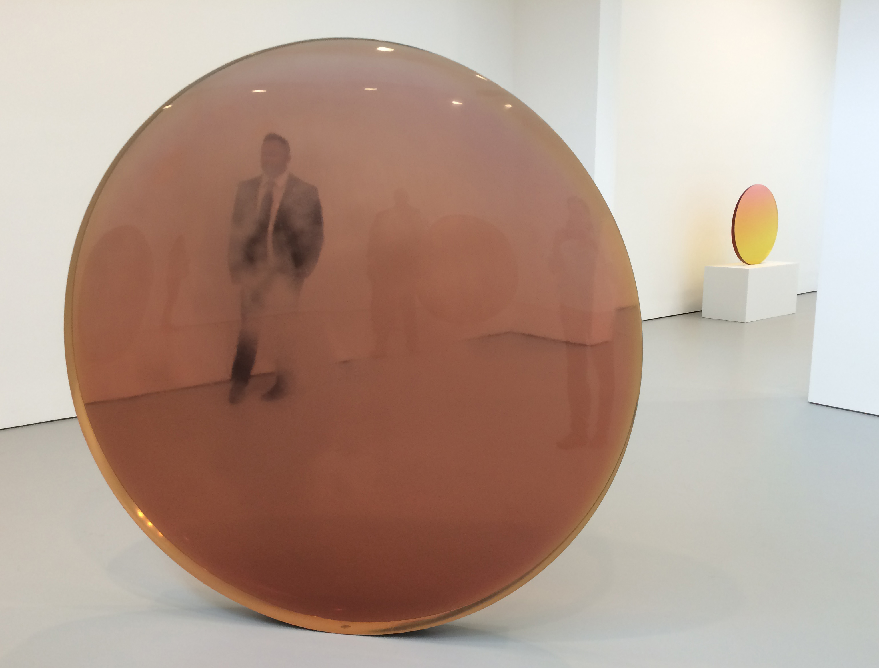 De Wain Valentine, Circle Gold Rose, Cast Polyester Resin, 70 3/8 X 70 X 4  7/8 In, 1970.