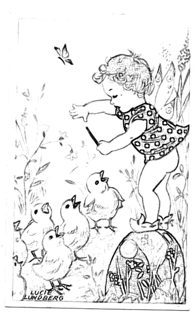 Vintage coloring page flower sex toy for Retro coloring pages