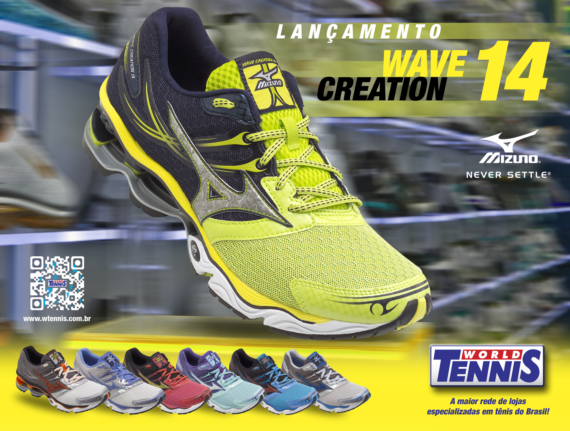 Mizuno Wave Creation 14 - World Tennis