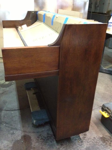 Ben Hur Restoring a Piano