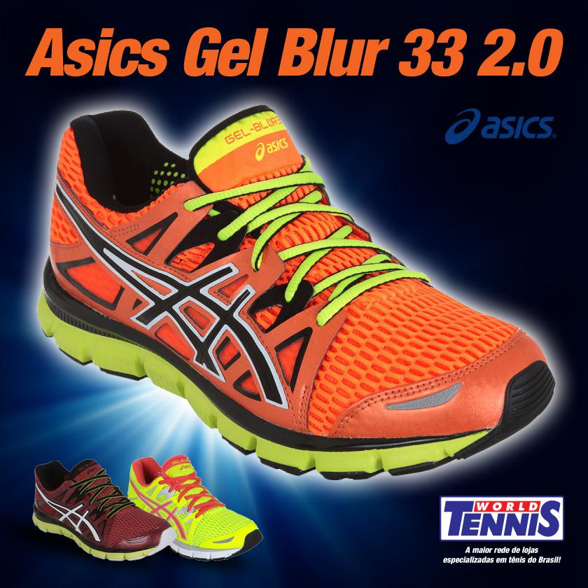 O Gel Blur 33 da Asics é um dos tênis mais aclamados da marca e152ac48634d2