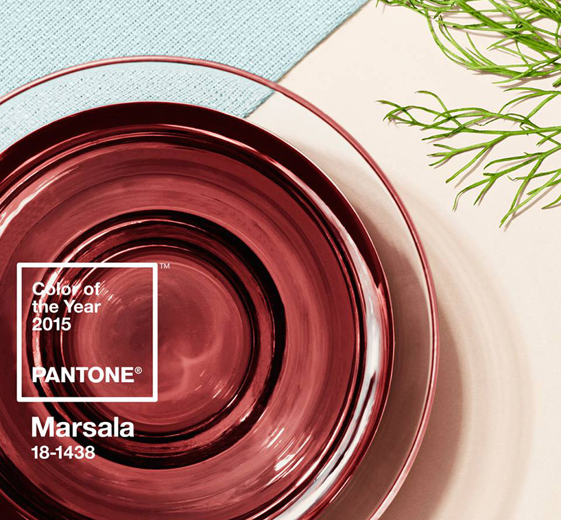 Pantone Colour of the Year Marsala 18-1438