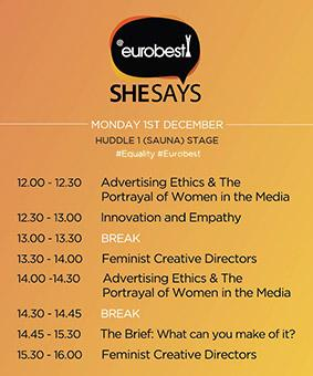 Sarah Scott Account Manager Attends Eurobest SheSays