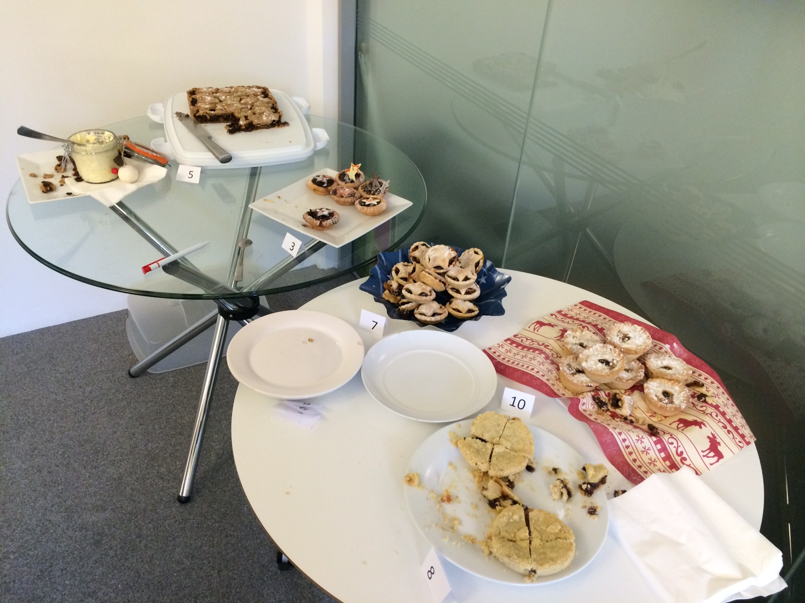 Think Tank hosts annual mince pie bake off