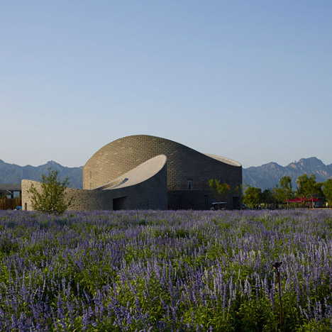 Architects create fruit-inspired buildings