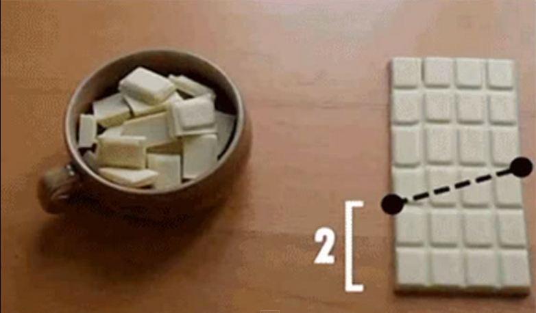 Infinite chocolate trick