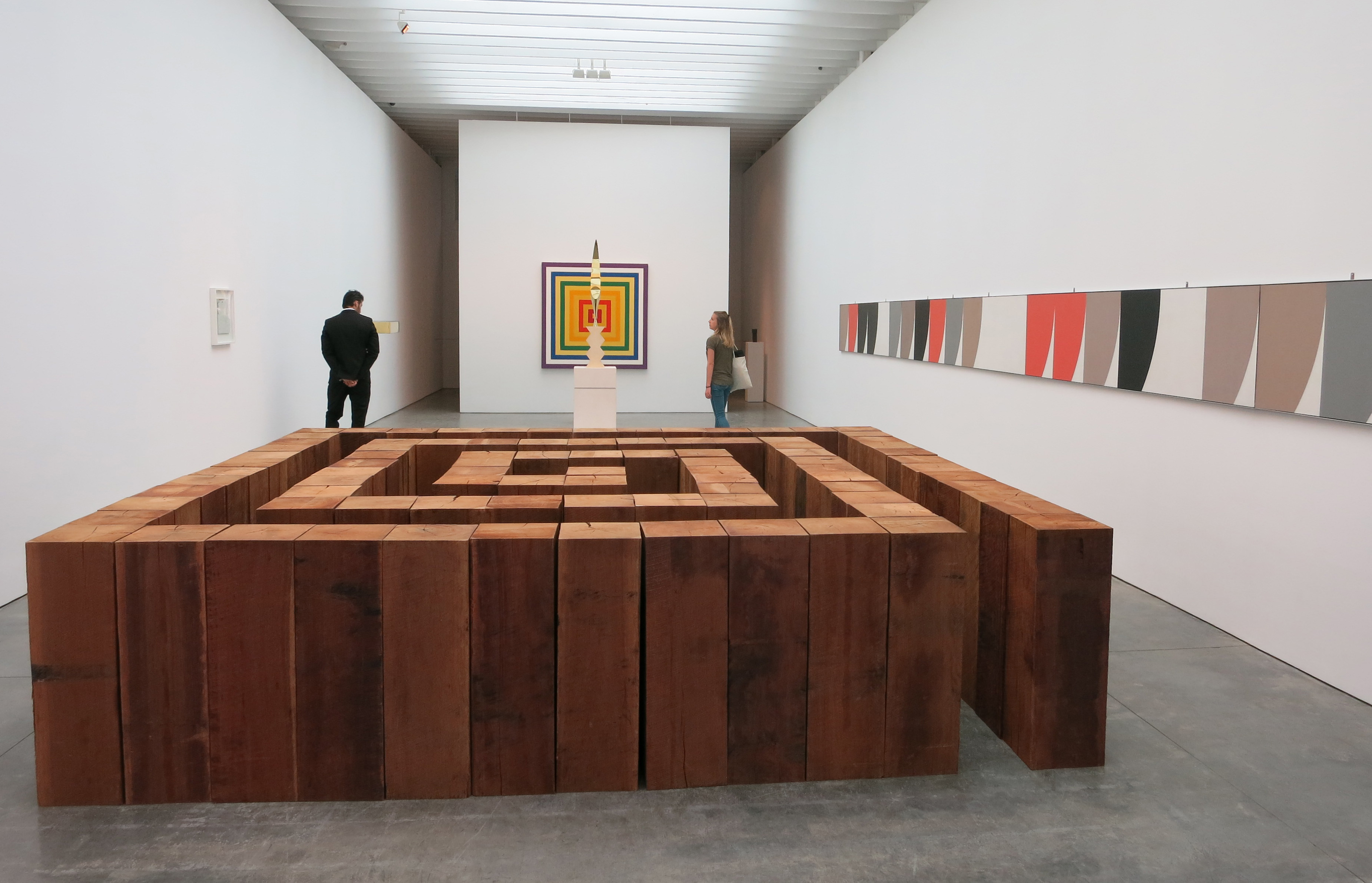 Carl andre new york art tours for Minimal art gallery