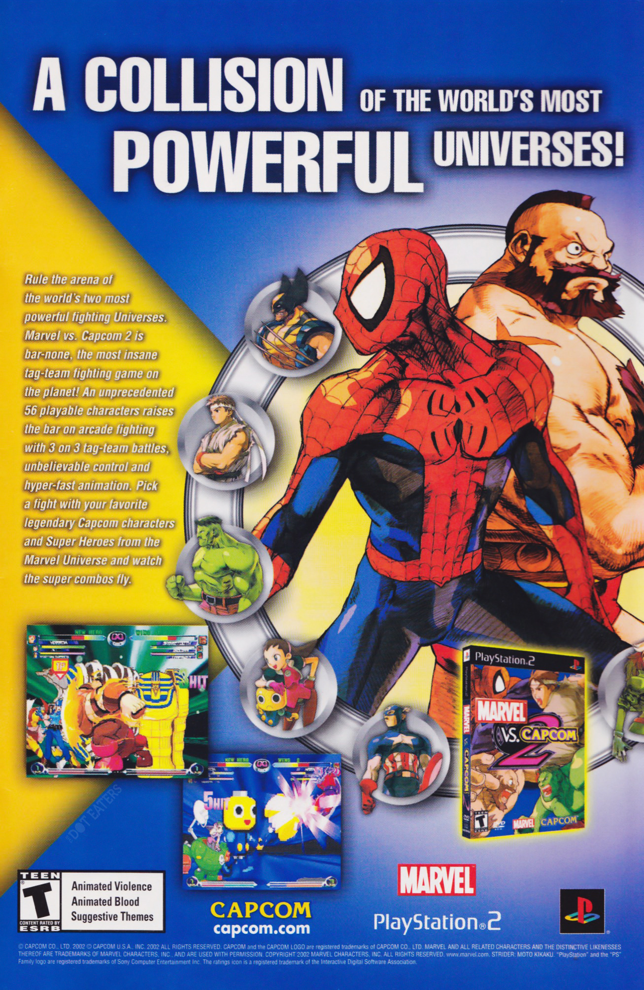 Who would win? (2003) Marvel bitstory Retro